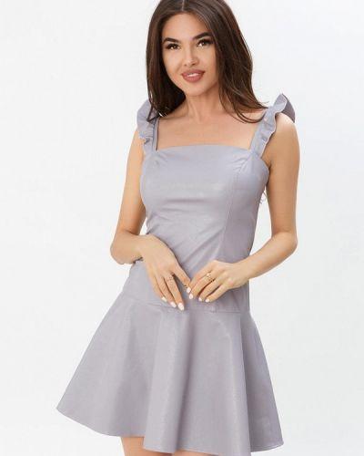 Вечернее платье весеннее фиолетовый Gepur