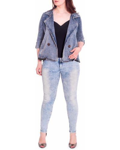 Джинсовая куртка винтажная синий Lacywear