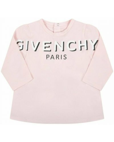 T-shirt z printem - różowa Givenchy