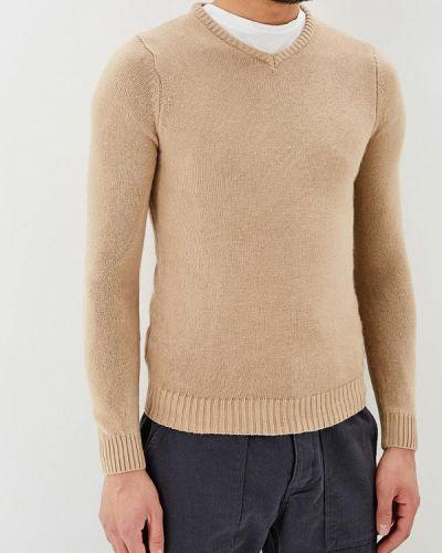 Бежевый пуловер 2018 Hopenlife