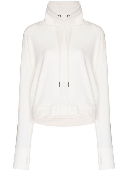 Biała bluza bawełniana Sweaty Betty