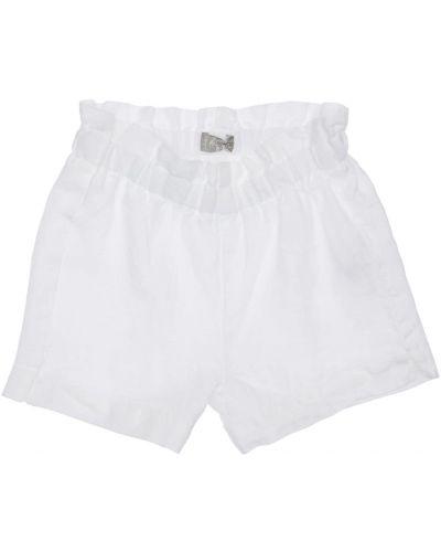Biały bielizna szorty na gumce Il Gufo