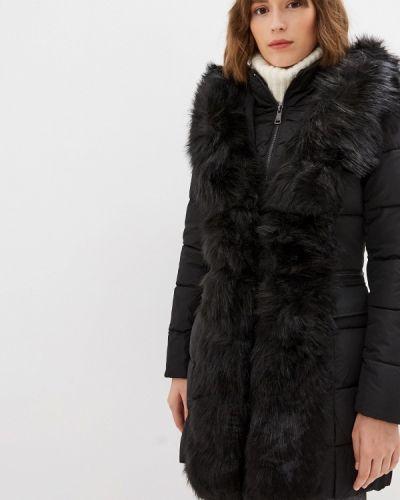 Утепленная куртка демисезонная черная B.style