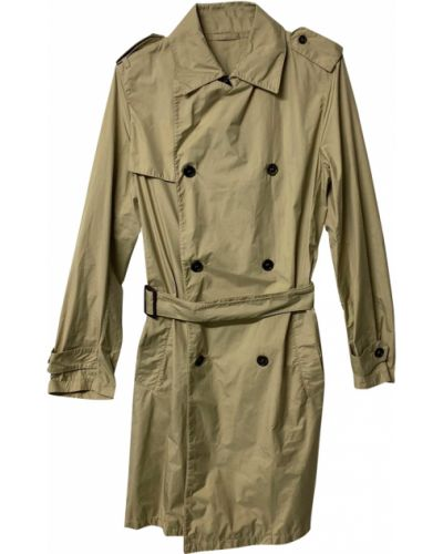 Płaszcz przeciwdeszczowy - brązowy Prada Vintage