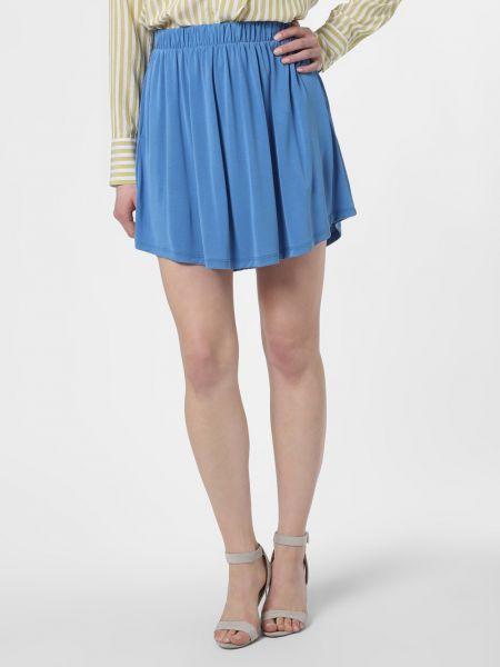Spódniczka mini - niebieska Minimum