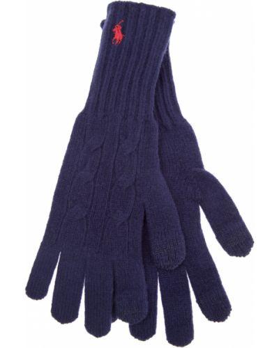 Перчатки вязаные кашемировые Polo Ralph Lauren