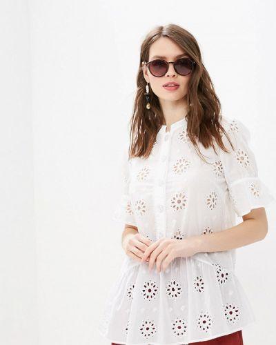 Блузка с коротким рукавом белая индийский Miss Selfridge