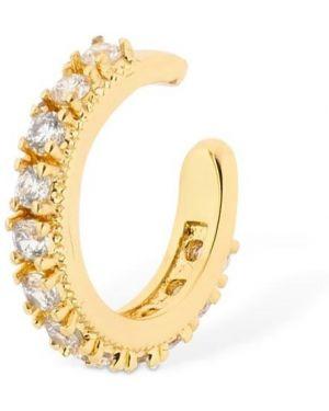 Złote kolczyki ze złota z cyrkoniami Camila Carril