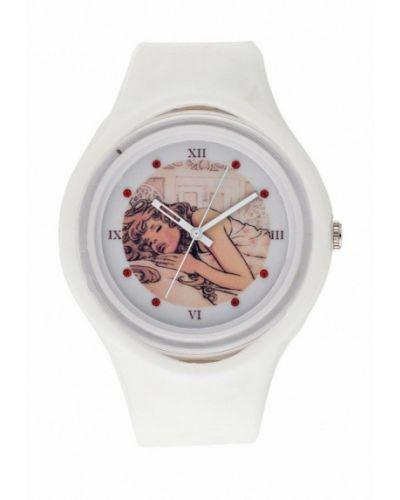 Часы белые весенний Kawaii Factory