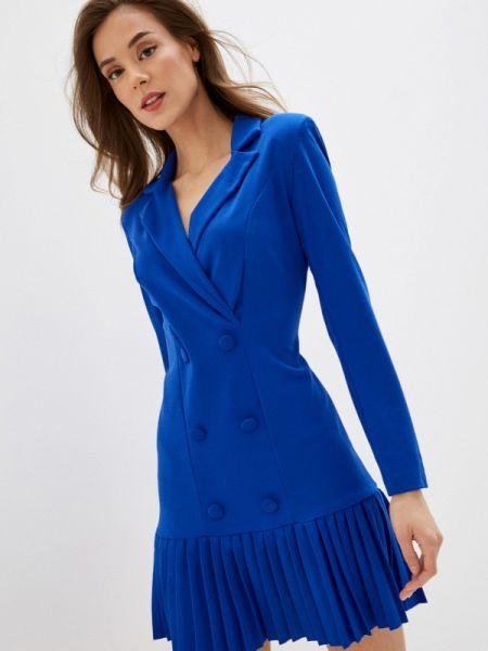 Платье платье-пиджак синее Rinascimento