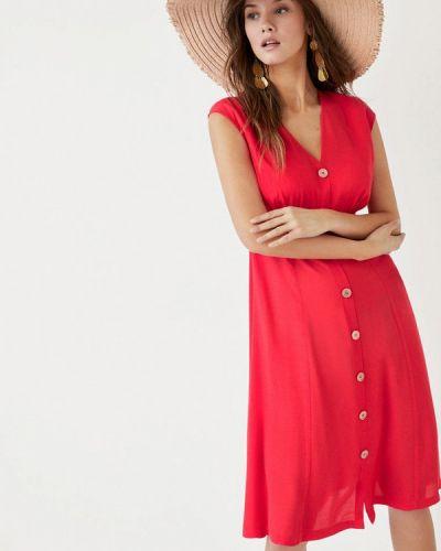 Пляжное платье весеннее красный Women'secret