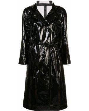 Черный пальто классическое Alexa Chung
