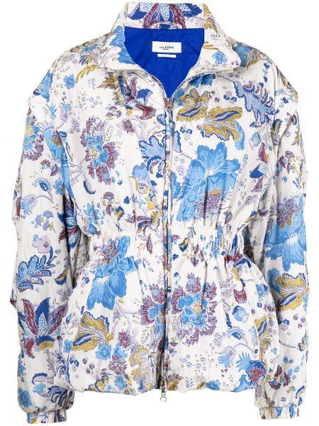 Синяя дутая куртка Isabel Marant étoile