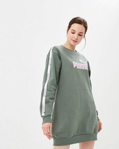 Платье прямое осеннее Puma