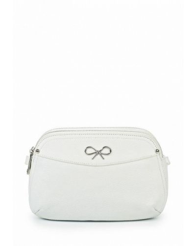 Белая кожаный сумка Labbra