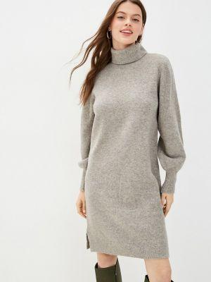 Вязаное платье - серое Pieces