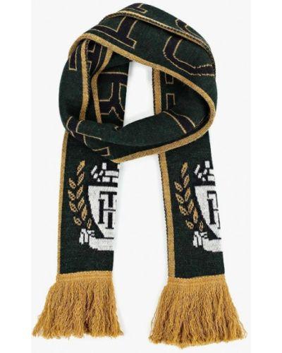Зеленый шарф итальянский Tommy Hilfiger