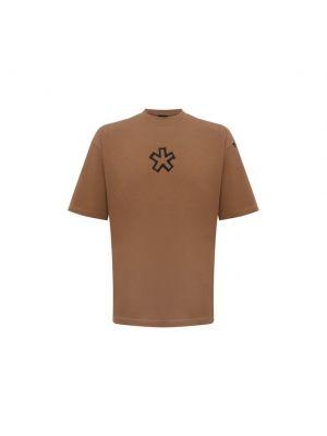 Бежевая хлопковая футболка Comme Des Fuckdown