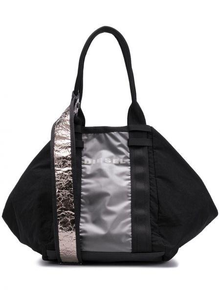 Спортивная сумка круглая сумка-хобо Diesel