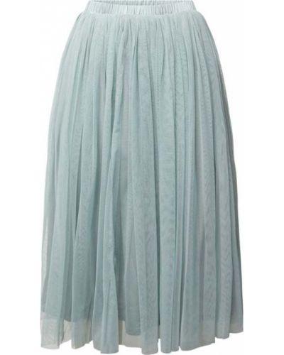 Spódnica midi rozkloszowana tiulowa koronkowa Lace & Beads