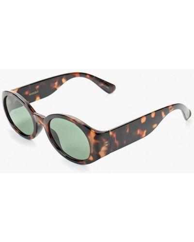Солнцезащитные очки круглые 2019 Mango
