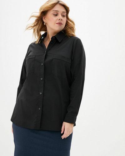 Рубашка - черная авантюра Plus Size Fashion