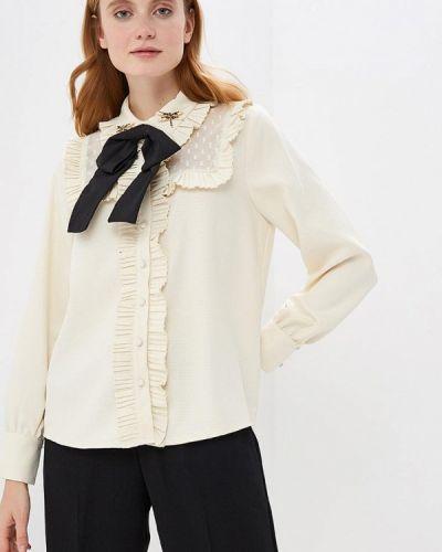 Бежевая блузка с рюшами Sister Jane