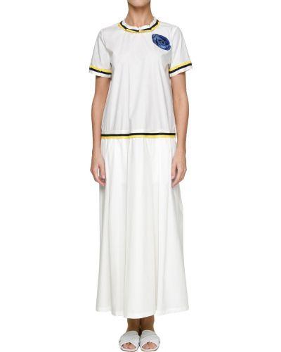 Белое платье Ballantyne