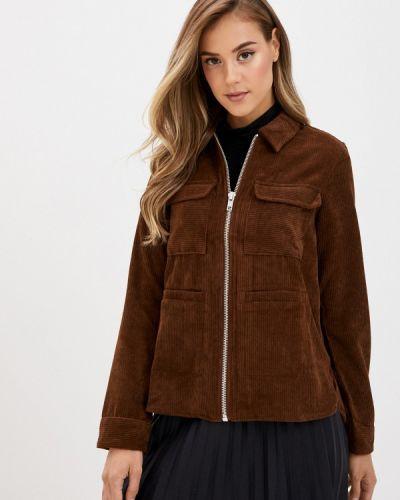 Облегченная коричневая куртка Pieces