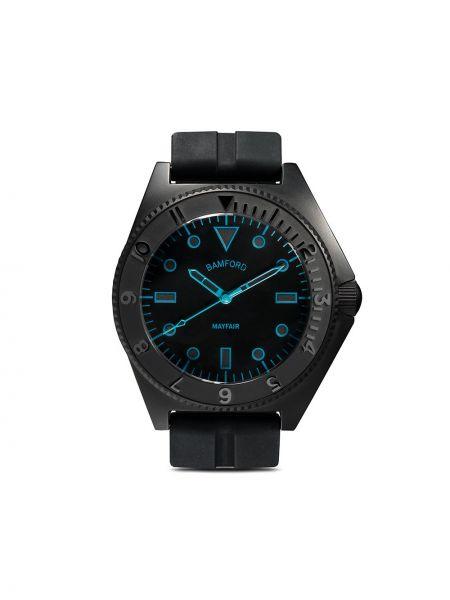 Zegarek okrągły stal nierdzewna Bamford Watch Department
