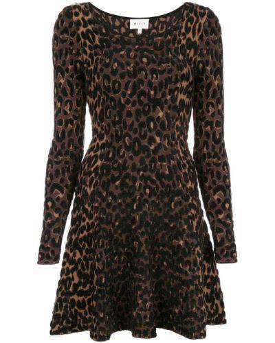 Платье макси леопардовое платье-солнце Milly