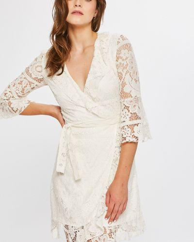 Платье мини с оборками из полиэстера Answear