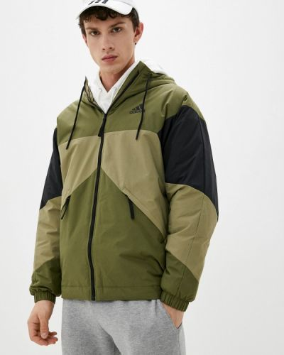 Зимняя куртка хаки Adidas