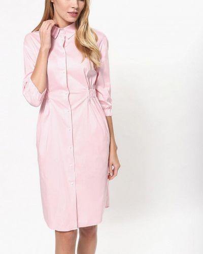 Платье розовое платье-рубашка Tutto Bene