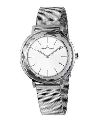 Zegarek srebrny Jacques Lemans