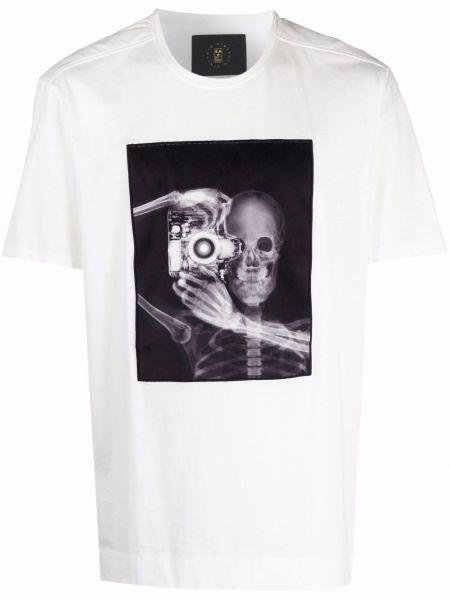 Biała koszulka krótki rękaw Limitato