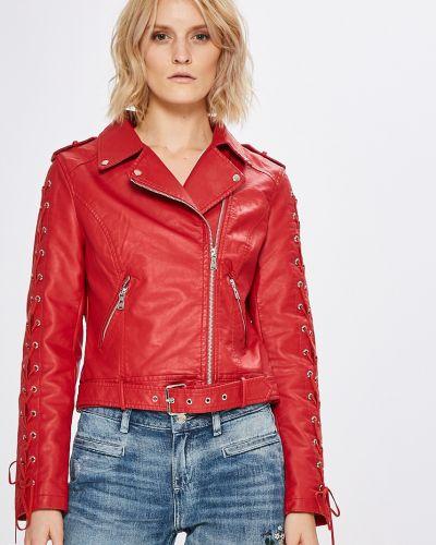 Кожаная куртка облегченная с карманами Haily's