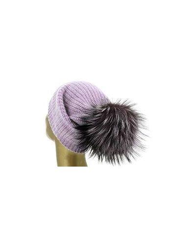 Фиолетовая шапка William Sharp