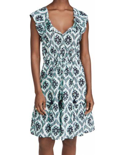 Платье мини с декольте Figue