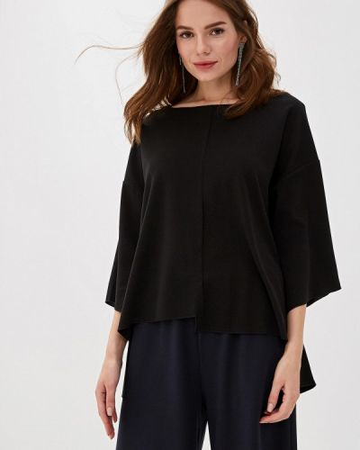 Блузка с длинным рукавом черная Perfect J
