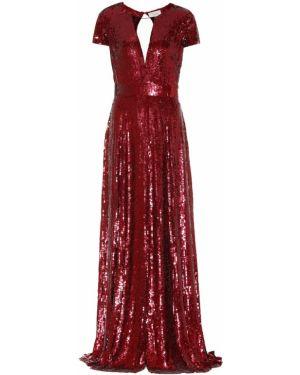 Платье с пайетками Temperley London
