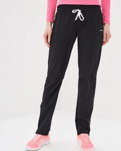 Спортивные брюки - черные Li-ning