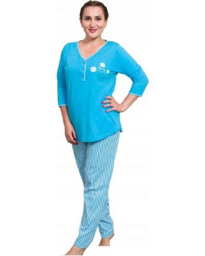 Czarny bawełna piżama piżama Vienetta