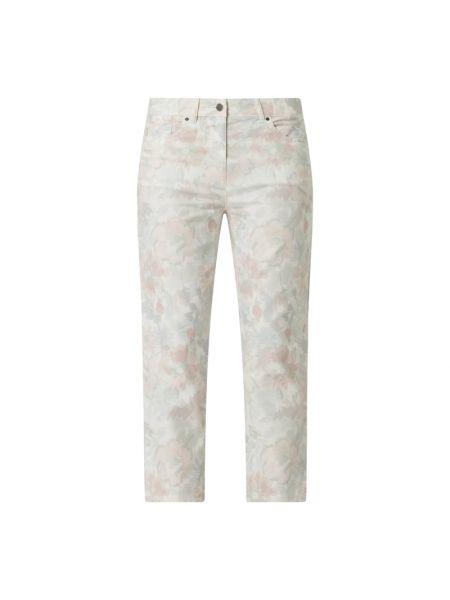 Różowe jeansy bawełniane Zerres