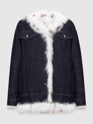 Куртка с мехом - синяя Florence Mode