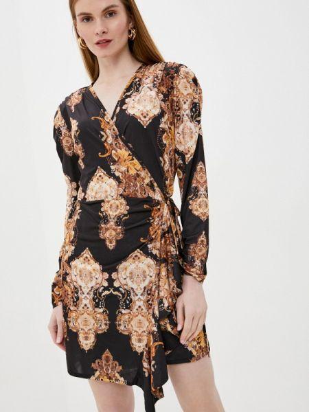 Вечернее платье осеннее черное Tantra