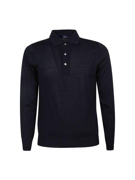 Niebieski sweter Lardini