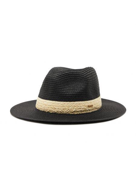 Czarny kapelusz Twinset