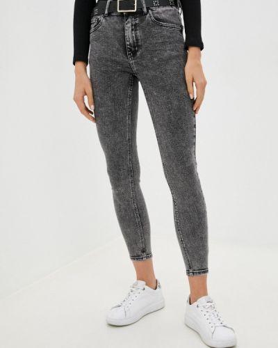 Серые зимние джинсы Miss Bon Bon