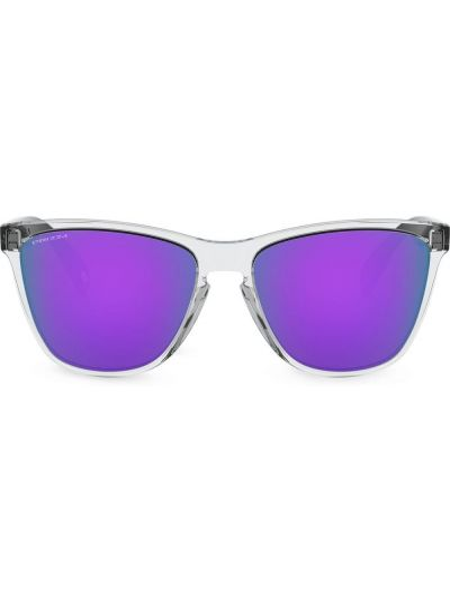 Прямые черные солнцезащитные очки квадратные Oakley